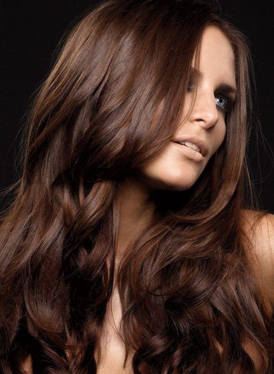 رنگ موی عسلی شکلاتی دخترانه
