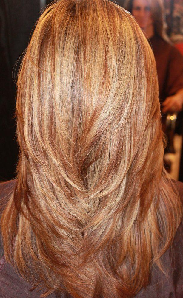 رنگ موی بلوند عسلی پایه ۸