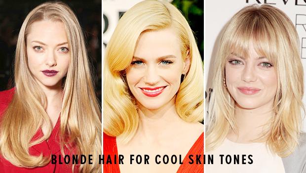 رنگ مو مناسب پوست روشن
