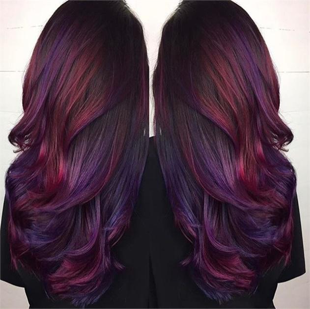 رنگ موی موقت