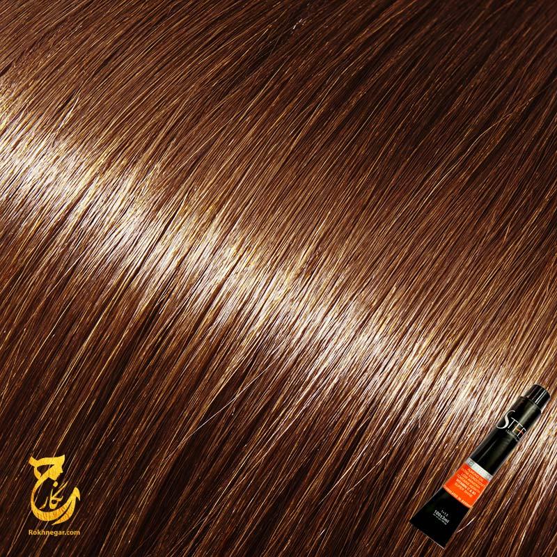 رنگ مو بلوند کاکائویی