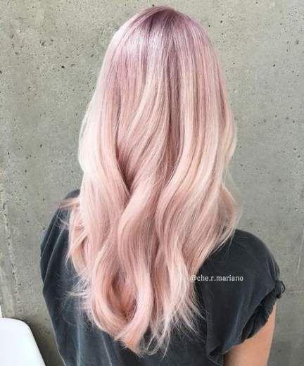 رنگ مو یاسی مرواریدی