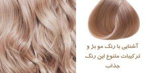 رنگ مو بژ جدید به روش حرفه ای ها با ۲۰ فرمول جذاب و متفاوت و لاکچری