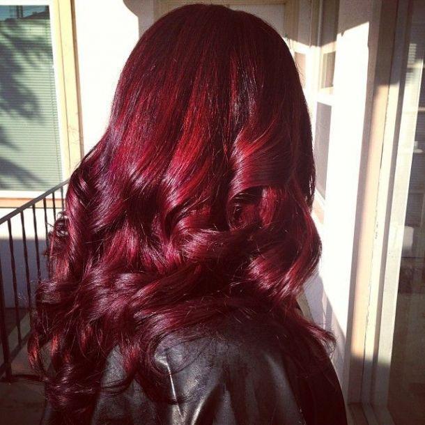گرفتن قرمزی مو