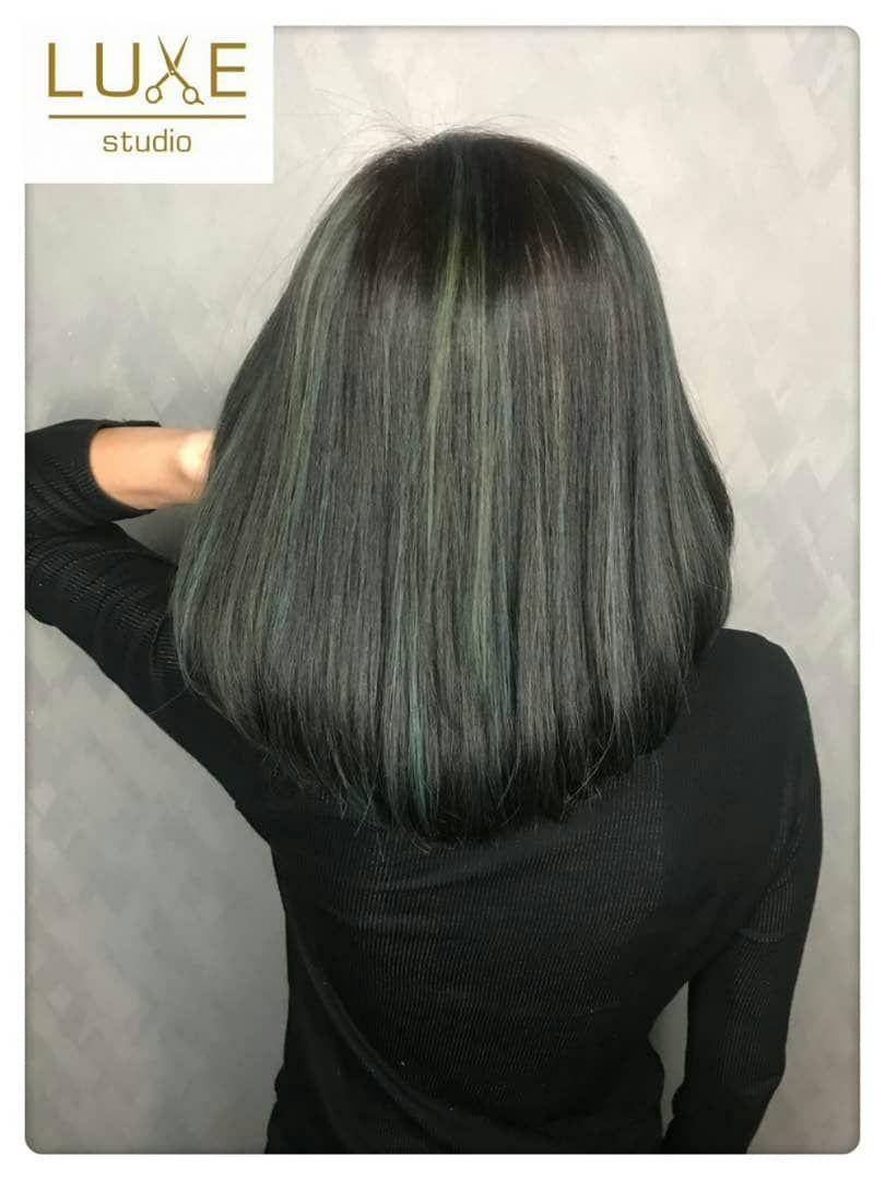 سبز شدن مو
