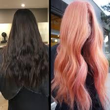 رنگ موی صورتی قهوه ای