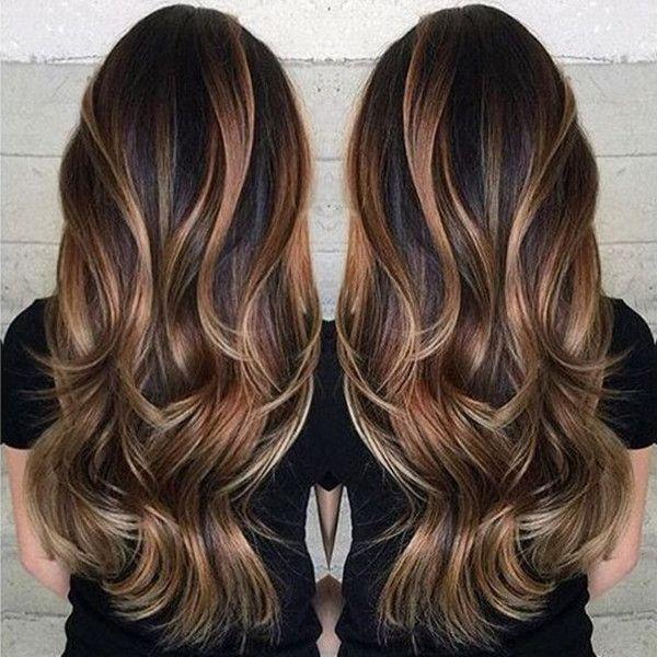 آموزش رنگ مو آمبره