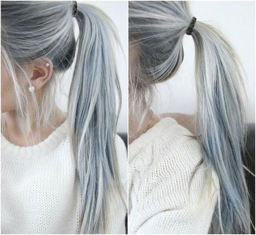 آموزش رنگ موی ترکیبی