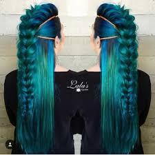 رنگ مو آبی لاجوردی