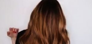 رنگ مو با تکنیک بالیاژ تیره و سامبره