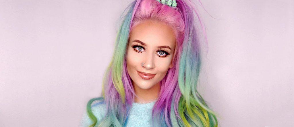 رنگ مو صورتی فانتزی