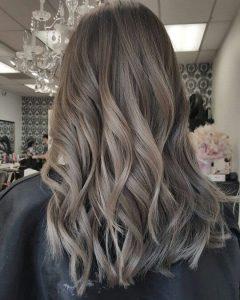 رنگ مو شنی دودی